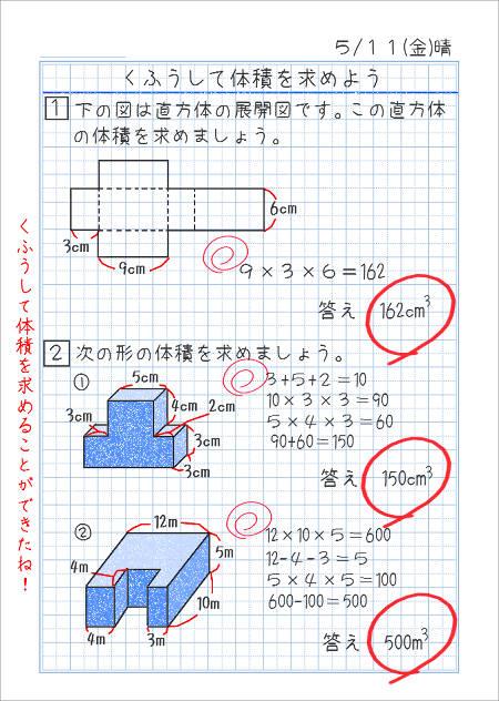直方体の体積a